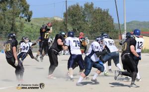 Football Americano – Gli Highlanders Catanzaro battono i Napoli 82ers e volano primi verso i playoff