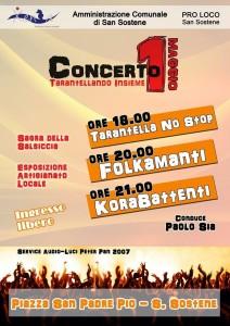 """San Sostene – Concerto 1° Maggio """"Tarantellando insieme"""""""