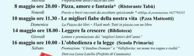 Vallefiorita - Programma eventi del Mese del Libro