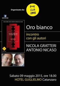 Catanzaro – Sabato 9 Maggio incontro con Nicola Gratteri e Antonio Nicaso
