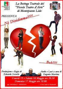 """Il 15, 16 e 17 Maggio teatro a Montepaone, """"Ni Dividimma?!.. Boh!!"""""""