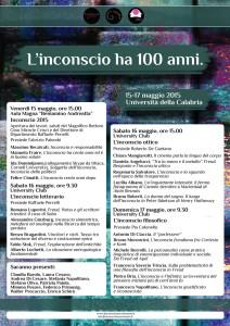 L'inconscio ha 100 anni, all'Unical una tre giorni con i più noti psicoanalisti italiani