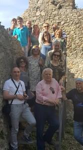 Artisti in Escursione al Castello di Squillace