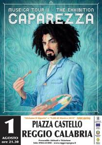 Caparezza in concerto Sabato 1 Agosto a Reggio Calabria