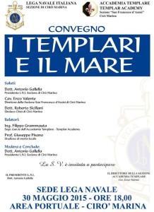 Giuseppe Pisano parla della possibile presenza Templare sulla fascia ionica calabrese