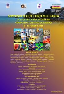 """Simposio d'Arte Contemporanea """"La luce nella baia di Caminia"""""""