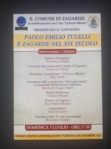 Convegno a Zagarise in ricordo del Filosofo Paolo Emilio Tulelli