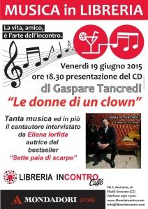 Soverato – Venerdì 19 giugno concerto di presentazione del CD di Gaspare Tancredi