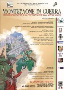 "Sabato 20 Giugno convegno ""Montepaone in Guerra"""