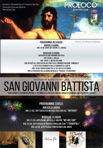 """Montepaone – Il 23 e 24 Giugno 2015 """"Festa di San Giovanni Battista"""""""
