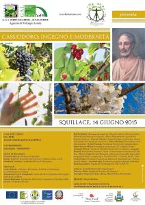 Squillace – Seconda giornata culturale dedicata a Flavio Magno Aurelio Cassiodoro