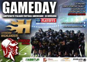 Football Americano: Parte la sfida playoff per gli Highlanders Catanzaro