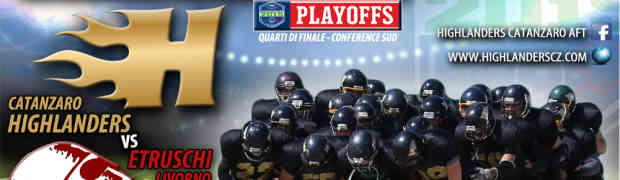 Football Americano: Parte la sfida playoff per gli Highlanders Catanzaro