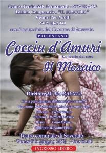 """Venerdì 5 Giugno al Teatro di Soverato concerto """"Cocciu d'Amuri"""""""