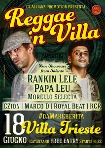 Catanzaro – Domani i salentini Rankin' Lele e Papa Leu in concerto #daMargherita