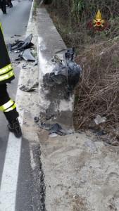 FOTO | Incidente mortale sulla SS. 106 a Badolato Marina