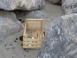 Quel che resta dell'ex spiaggia più bella di Soverato…