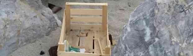 Quel che resta dell'ex spiaggia più bella di Soverato...