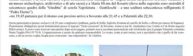 Da Soverato una gita a Scilla, Gambarie, Sinopoli e Bagnara