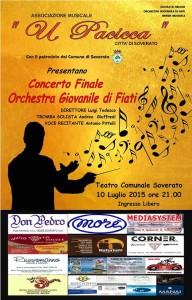 Soverato – Venerdì 10 luglio Concerto Finale Orchestra Giovanile di Fiati