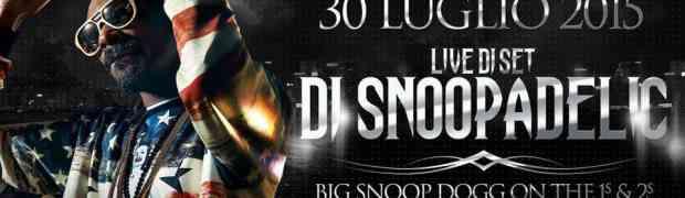Montepaone - Giovedì 30 Luglio al Tempio di Atlantide live di Snoop Dogg!