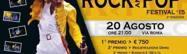 Il 20 agosto la seconda edizione del Girifalco Rock and Pop Festival