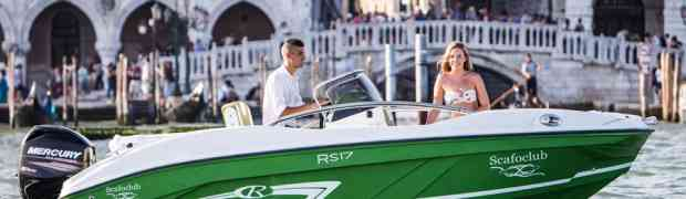 """In corsa per il premio """"Barca dell'Anno"""" la nuova Rancraft RS 17 sportiva e personalizzata come un'auto"""
