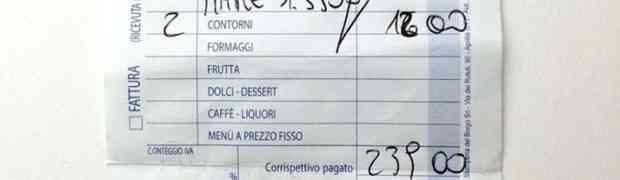 Conto carissimo in un ristorante di Soverato, la denuncia diventa virale su Facebook