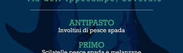 Soverato – Venerdì 20 Luglio degustazione di Pesce Spada al Lido San Domenico