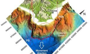 Nuovi indizi confermano una mega frana al largo dello Jonio