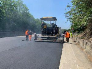 """Terminata la prima fase dei lavori di pavimentazione lungo la SS 280 """"Dei Due Mari"""""""