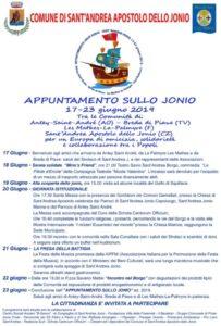 La Presa della Battigia: l'evento di inizio estate a Sant'Andrea Jonio