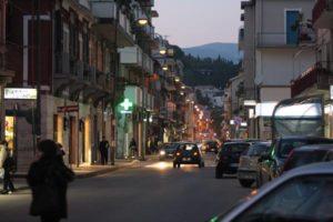 Il Corso e i commercianti di Soverato