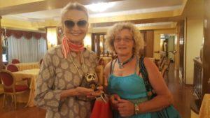 Consegnato il Premio Neko all'attrice Barbara Bouchet