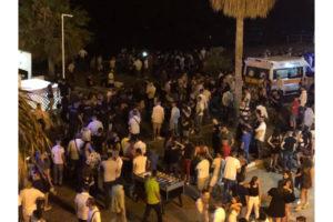 Maxi rissa tra ragazzi sul lungomare, intervengono ambulanza e polizia