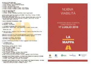 Catanzaro – Inversione senso di marcia su Corso Mazzini a partire dalle ore 7 di mercoledì 17 luglio