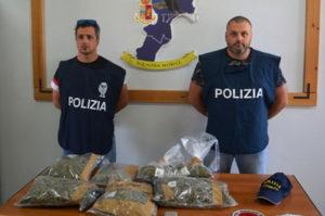 Spaccio di marijuana e cocaina, due persone arrestate