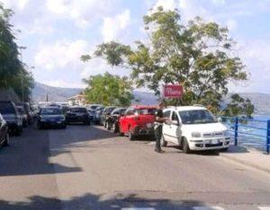 FOTO NEWS | Soverato – Pioggia di multe per parcheggi selvaggi