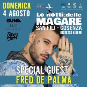 Il rapper Fred De Palma incontra le Magare di San Fili