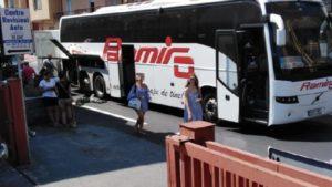 Badolato – Bus proveniente dall'estero si guasta sulla Ss 106, disagi alla circolazione