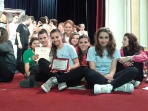 Le ballerine catanzaresi a Sanremo ballano per la lotta ai tumori