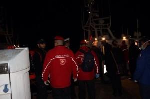 Volontari Soveratesi in soccorso dei migranti nella tempesta
