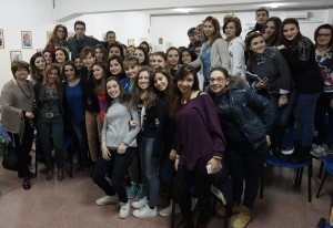 Cristiana Capotondi al Mgff School in the City