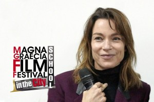 Catanzaro – Stefania Rocca al Magna Graecia Film Festival School in the City