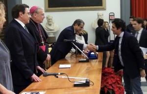 """Premiato Gianvito Casadonte come """"Personalità Europea 2013"""""""
