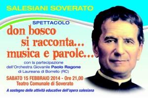 Soverato – Don Bosco si racconta … musica e parole