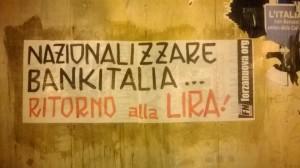 "Crotone si è svegliata ""euroscettica"", azione di FN"