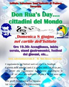 """Soverato – Domenica 8 Giugno il """"Don Rua day"""""""