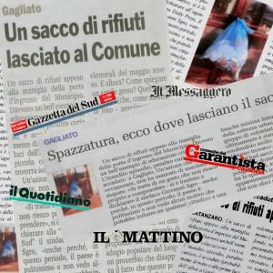 """Gagliato, la notizia sul """"sacco di rifiuti"""" vola in tutt'Italia e all'estero"""