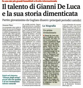Il talento di Gianni De Luca e la sua storia dimenticata